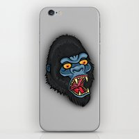 Traditional Angry Gorilla  iPhone & iPod Skin