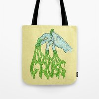 Gross Hand Tote Bag