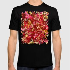 Red hot day Species SMALL Black Mens Fitted Tee