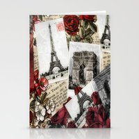 Postcards From Paris Stationery Cards