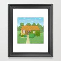 N 400 East, Centerville,… Framed Art Print