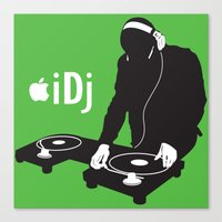 I DJ Canvas Print