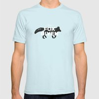 Zero Fox Given Mens Fitted Tee Light Blue SMALL