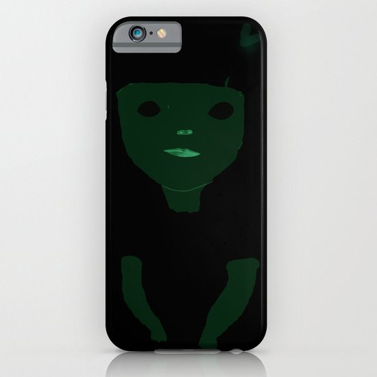 into the white iPhone & iPod Case