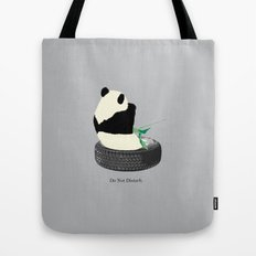 do not disturb. PANDA Tote Bag
