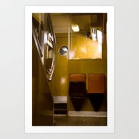 Paris Train Art Print