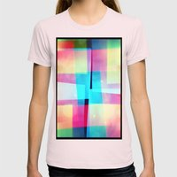 Constructs #2 (35mm Mult… Womens Fitted Tee Light Pink SMALL