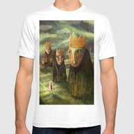 In The Company Of Kings Mens Fitted Tee White SMALL