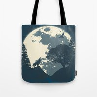 Monotoned Night Time... Tote Bag