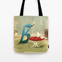Time For Tea With Letter… Tote Bag