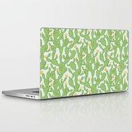Happy Cactus   Pattern Laptop & iPad Skin