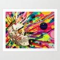 Skullor Art Print
