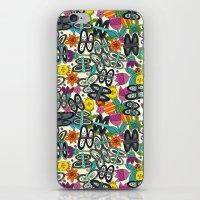 Butterfly Pop Garden iPhone & iPod Skin