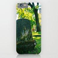 Peaceful graveyard iPhone 6 Slim Case