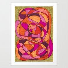 Pinks Art Print