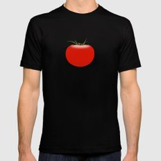 The Big Tomato SMALL Mens Fitted Tee Black