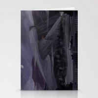 Gray Gloom Stationery Cards