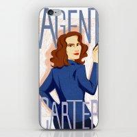 Agent Carter iPhone & iPod Skin