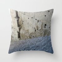 Stairway From The Past. Throw Pillow