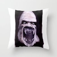 Rawhead Rex Throw Pillow