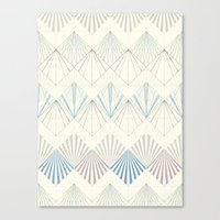 Muted Mellow Canvas Print