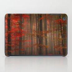 Enchanting Red iPad Case