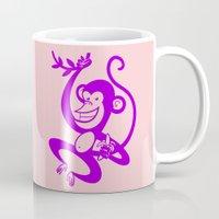 Purple Monkey Mug