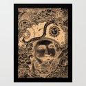 Baron von Munchausen Art Print