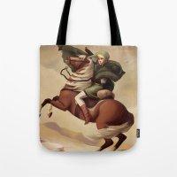 The Hero Crossing Death … Tote Bag