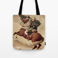 The Hero Crossing Death Mountain Tote Bag