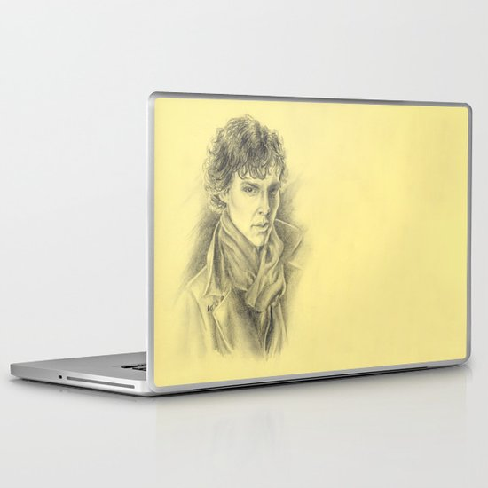 Sherlock Homles Laptop & iPad Skin