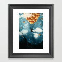 Where All The Wishes Com… Framed Art Print