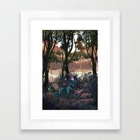 Metal Gear Solid - The End Framed Art Print