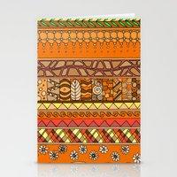 Yzor Pattern 012 Rich Su… Stationery Cards