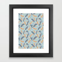 Logs Framed Art Print