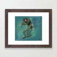 Monster is back  Framed Art Print