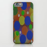 iPhone Cases featuring Circles by Kathleen Sartoris