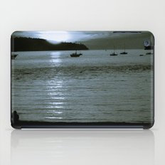watching the sun set iPad Case