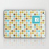Travel Icons Laptop & iPad Skin