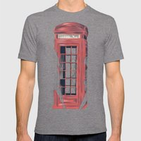 No Place Called Home Mens Fitted Tee Tri-Grey SMALL