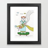 ... Framed Art Print