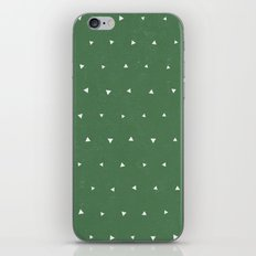 Geo Triangles Avacado iPhone & iPod Skin