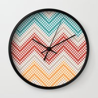 C13 Pattern Series - Pix… Wall Clock
