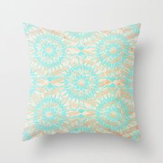 Behind The Others Throw Pillow