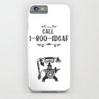 1-800-IDGAF iPhone 6 Slim Case