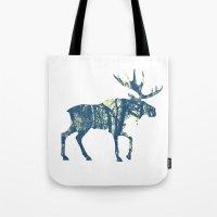 Moose Two Tote Bag
