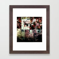 Concrete Jungle 2 Framed Art Print