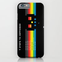iPhone & iPod Case featuring 7 Steps To Happiness by Matt Crave