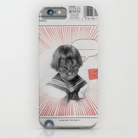 iPhone & iPod Case featuring cat by sr casetin