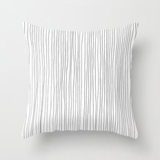 More Lines Throw Pillow
